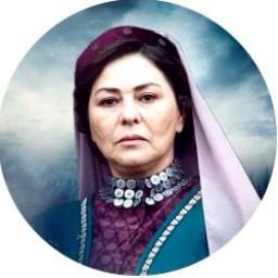 Şefika Tolun as Zahide Eminof