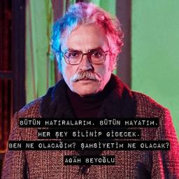 Haluk Bilginer as Agah Beyoğlu
